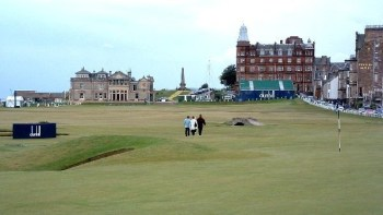 The Old Course at St Andrews Links. Pic by Cactus.man.