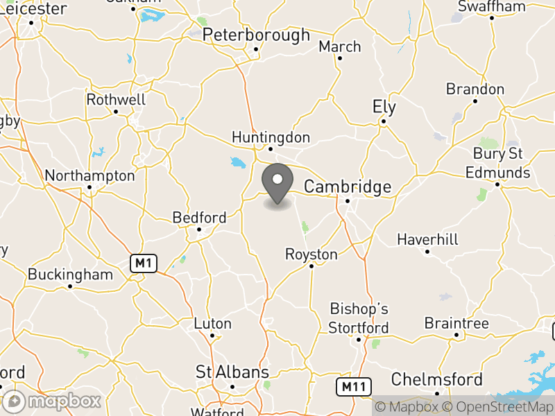 Location of Great Gransden C L