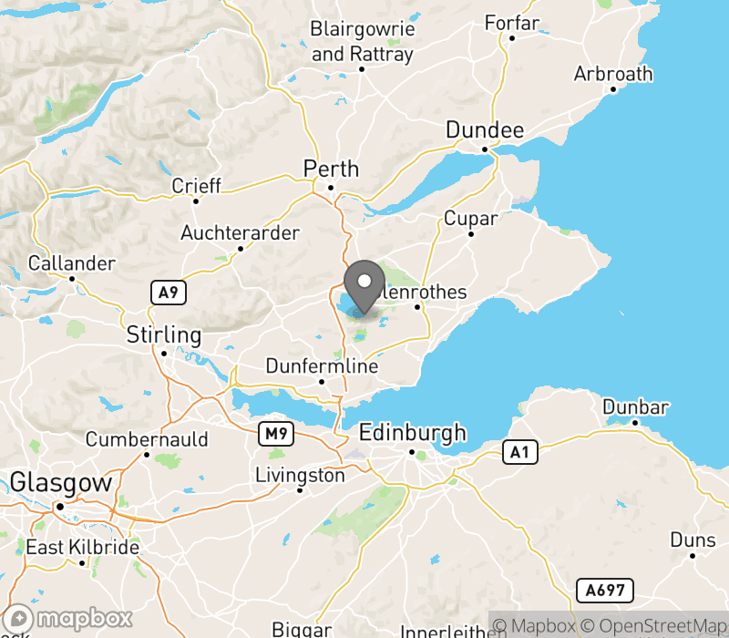 Location of Loch Leven Lodges