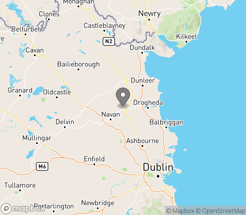 Location of Slane Farm Hostel