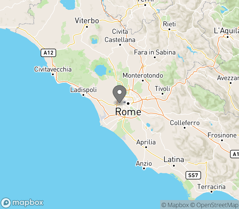 Location of Camping Village Roma