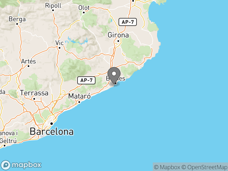 Location of Camping Blanes