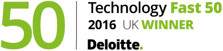 Deloitte UK Technology Fast 50: Βραβείο για το 2016