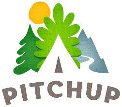 Logotipo do Pitchup.com
