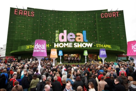 Ideal Home Show at Earls Court