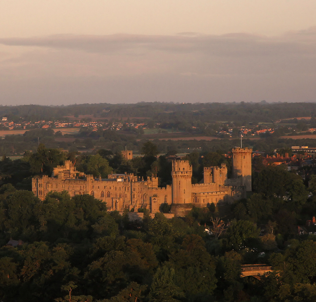 Warwick Castle. Photo by recursion_see_recursion (Flickr)