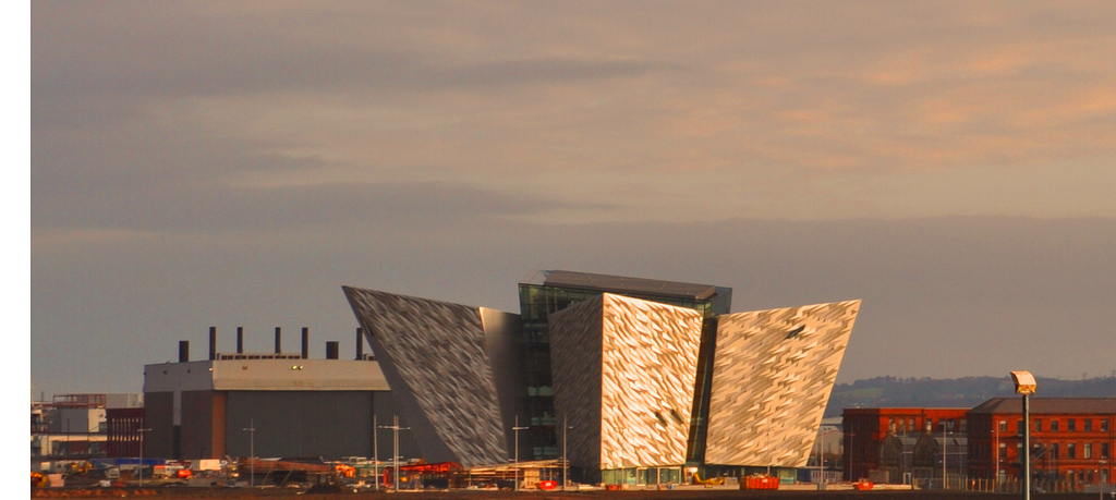 Belfast Titanic Visitor Centre. Photo by fitz@flickr