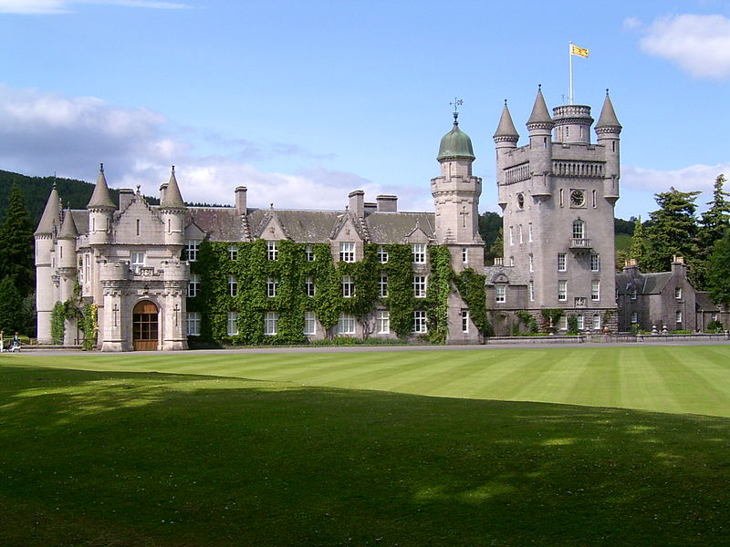 Balmoral Castle. (Pic by Stuart Yeates via Flickr.)