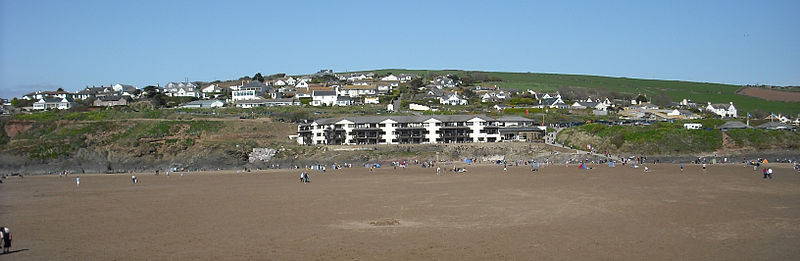Bigbury-on-Sea from Burgh Island