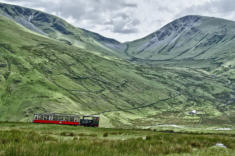Snowdon Mountain Railway. Pic by Russavia.