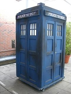 TARDIS. Not yet on campsites.
