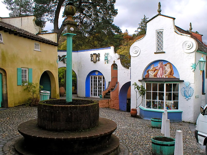 Battery Square at Portmeirion