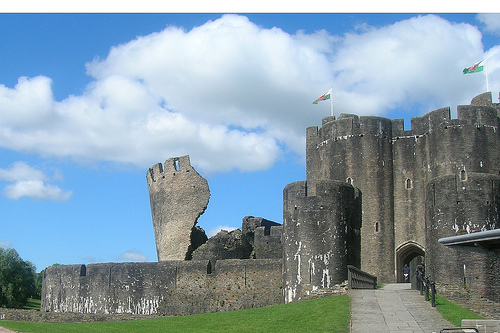 Caerphilly Castle. Photo by alecea@flickr