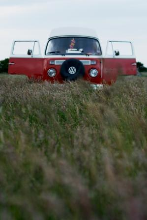 Out to grass...the VW Kombi