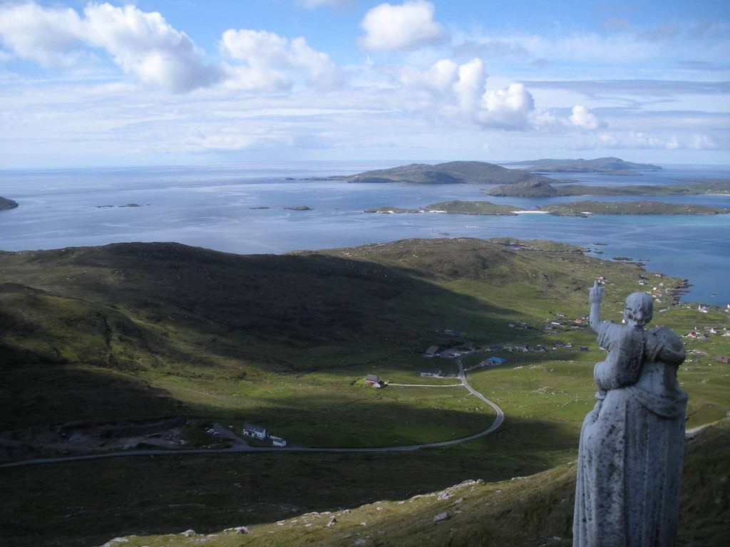 The island of Barra (pic from Croft 183)
