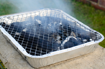 Barbecues still emit carbon monoxide even when the flames are out
