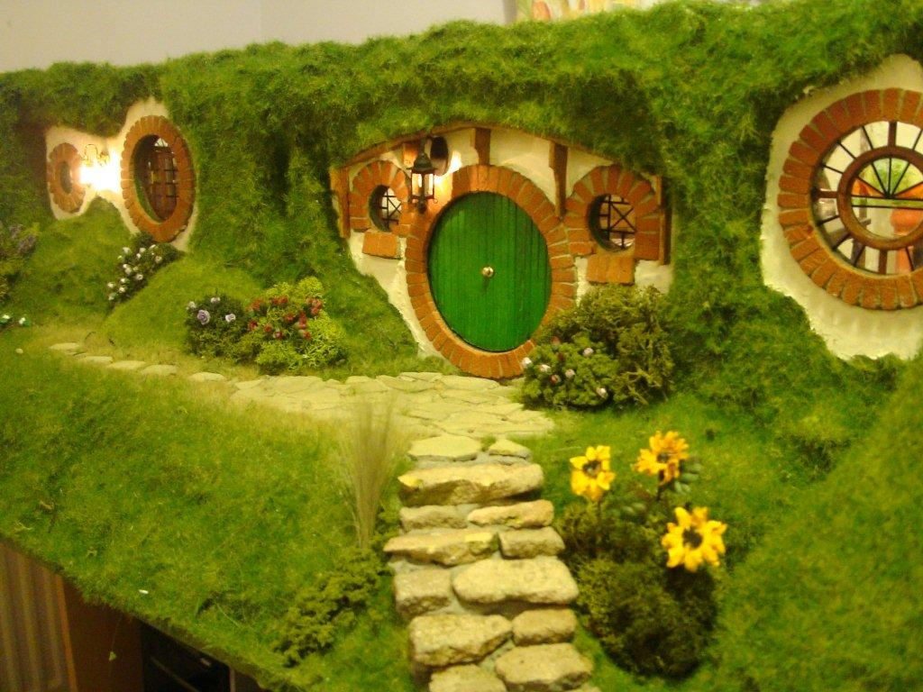 A hobbit hole. (Not yet available on Pitchup.com.)