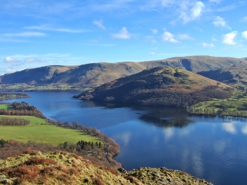 Northern end of Ullswater, Lake District