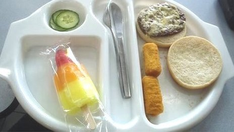 2/10 - the health rating Martha gave this school dinner