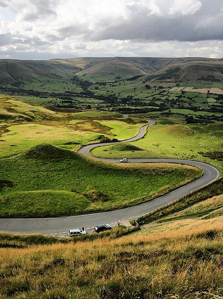 The Edale Valley. (Pic by Evilbish via Creative Commons.)