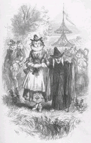 Two of the alleged Pendle witches