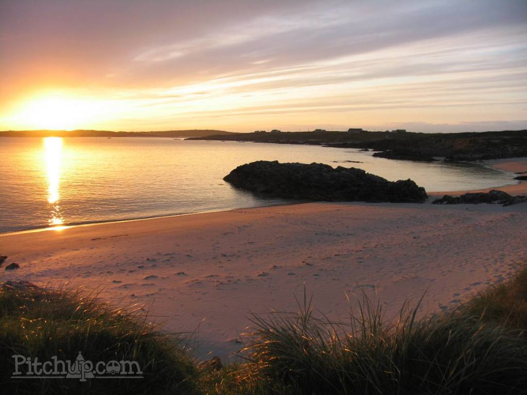 The private beach at Clifden Eco Beach park