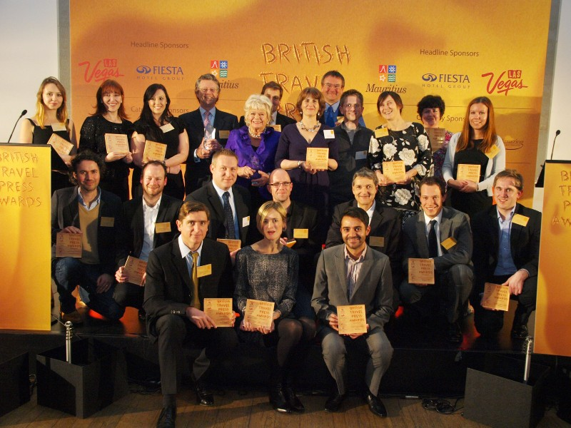 Winners of the British Travel Press Awards 2011