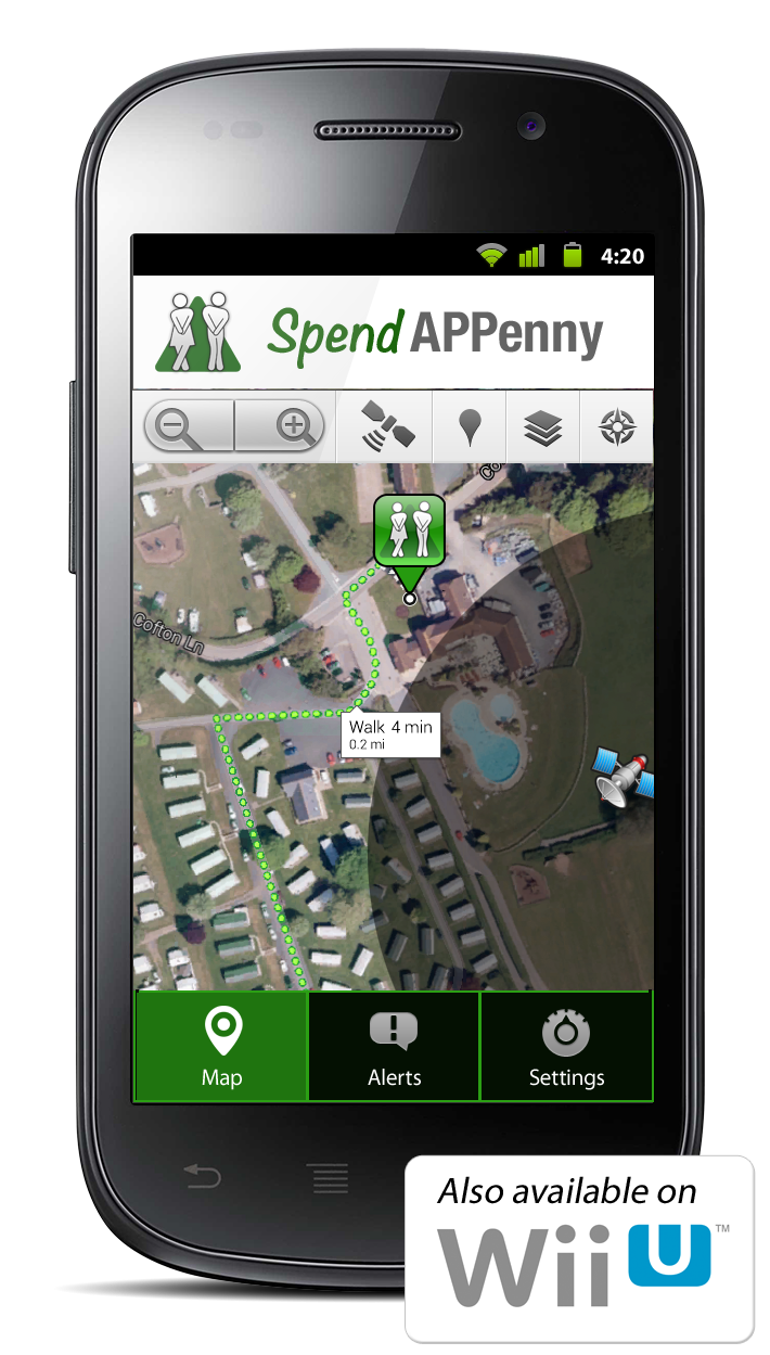 Never get caught short with the Spend APPenny app