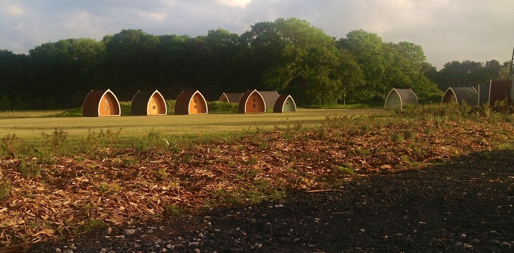 Pods at Stanley Villa Farm Camping