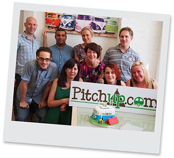 The Pitchup.com team