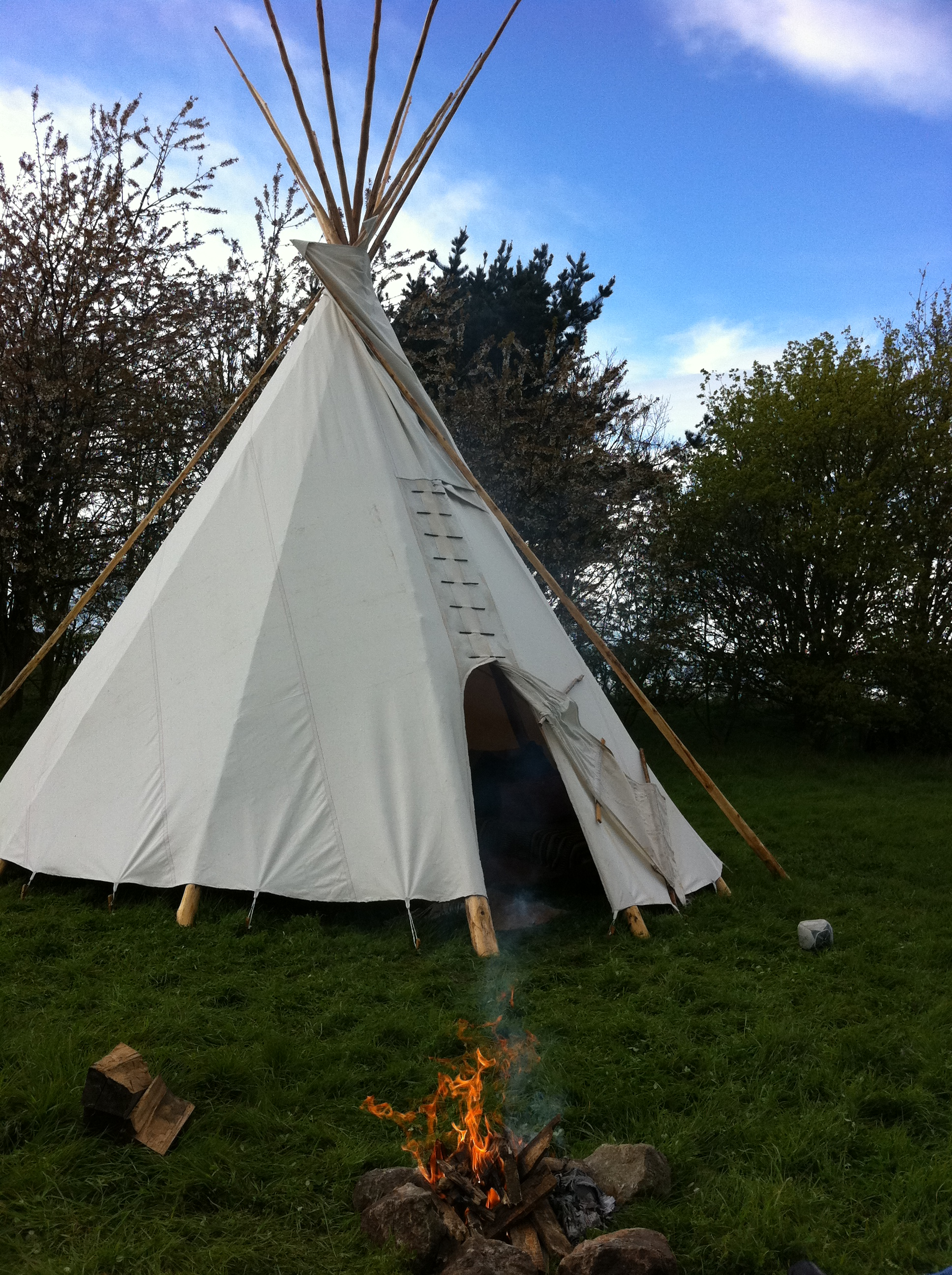 Tipi at Twitey's