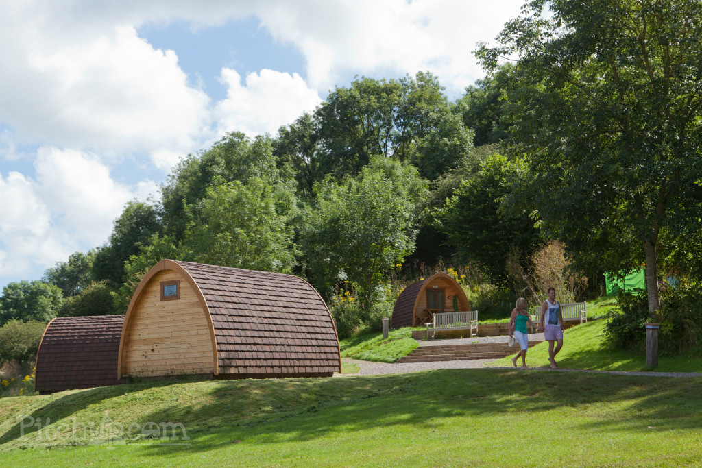 Pods at Whitehill Country Park