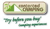Contented Camping logo