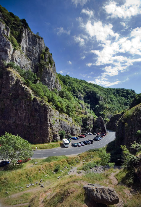 Cheddar Gorge near Broadway House Holiday Park, Cheddar